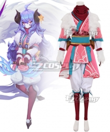 League of Legends LOL Spirit Blossom Kindred Cosplay Costume