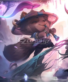 League Of Legends LOL Spirit Blossom Teemo Cosplay Costume
