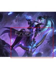 League Of Legends LOL Spirit Blossom Vayne Crossbow Cosplay Weapon Prop