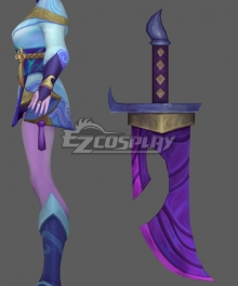 League of Legends LOL Spirit Blossom Riven Cosplay Weapon Prop