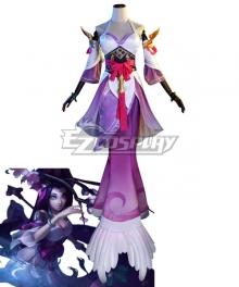 League Of Legends LOL Splendid Nami Cosplay Costume