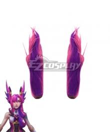 League of Legends LOL Star Guardian 2019 Xayah Purple Ears Cosplay Accessory Prop