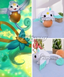 League Of Legends LOL Star Guardian Lulu Pet Pix Doll Cosplay Accessory Prop
