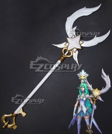 League of Legends LOL Star Guardian Soraka Wands Cosplay Weapon Prop - B Edition