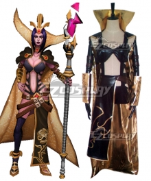 League Of Legends LOL Mistletoe LeBlanc Cosplay Costume