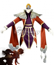 League Of Legends LOL The Stoneweaver Taliyah Cosplay Costume
