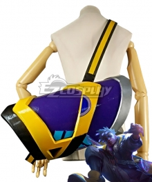 League of Legends LOL True Damage Ekko Bag Cosplay Accessory Prop