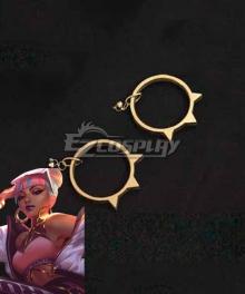 League of Legends LOL True Damage Qiyana Earclip Cosplay Accessory Prop