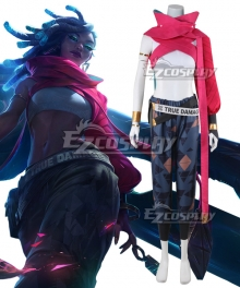 League of Legends LOL True Damage Senna Cosplay Costume
