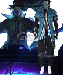 League of Legends LOL True Damage Yasuo Cosplay Costume