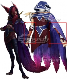 League of Legends LOL Xayah Cosplay Costume - Premium Edition - Only Gloves
