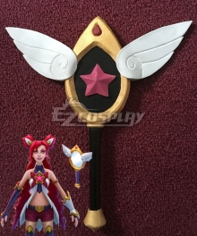 League of Legends Star Guardian Jinx Mirror Cosplay Accessory Prop