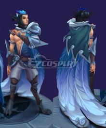 League of Legends Rakan SSG Skin Male Cosplay Costume