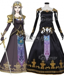 Legend of Zelda Dark Princess Zelda Cosplay Costume