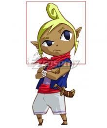 Legend of Zelda: Wind Waker Tetra Yellow Cosplay Wig