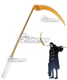 Let It Die Uncle Death Scythe Cosplay Weapon Prop