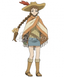 Log Horizon Season 2 Rundelhaus Isuzu Cosplay Costume