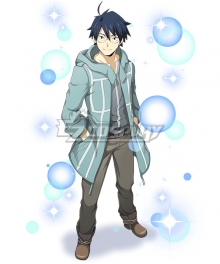 Log Horizon Shiroe Causal Cosplay Costume