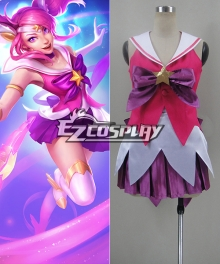 League of Legends Star Guardian Lux Cosplay Costume