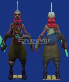 League of Legends Ekko Cosplay Costume