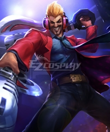 League of Legends LOL Primetime Draven the Glorious Executioner Cosplay Costume