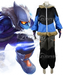 League of Legends LOL Snow Day Malzahar Cosplay Costume
