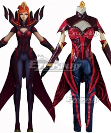League of Legends LOL Elementalist Magma Lux Cosplay Costume - No Pauldrons