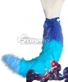 LOL League of Legends Ahri Spirit Blossom Skin Single Tail Cosplay Accessory Prop