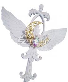Lolita Series Halloween Magic Wand Magic Star Moon Staff Cosplay Weapon Prop