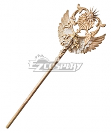 Lolita Series Halloween Magic Wand Witch Alkena's Dream Staff Cosplay Weapon Prop