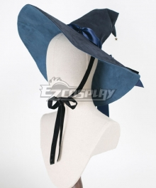 Lolita Series Halloween Wizard Blue Hat Cosplay Accessory Prop