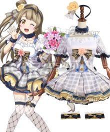 Love Live! Lovelive! Kotori Minami School Idol Festival Flower Bouquet Dress Cosplay Costume