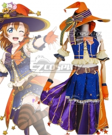 Love Live! Lovelive! Halloween Honoka Kousaka Pumpkin Ver. Cosplay Costume