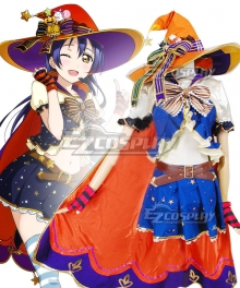 Love Live! Lovelive! Halloween Umi Sonoda Pumpkin Ver. Cosplay Costume