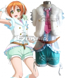 Love Live! lovelive! Rin Hoshizora Snow halation Cosplay Costume