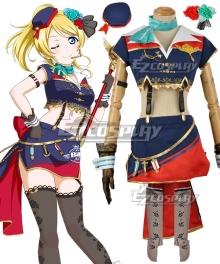Love Live! Lovelive! Transformed Sky Eli Ayase Cosplay Costume