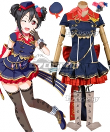 Love Live! Lovelive! Transformed Sky Nico Yazawa Cosplay Costume