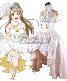 Love Live! Lovelive! Wedding Bride Dress Party Dress Kotori Minami Cosplay Costume