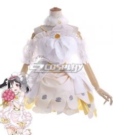 Love Live! Lovelive! Wedding Bride Dress Party Dress Nico Yazawa Cosplay Costume