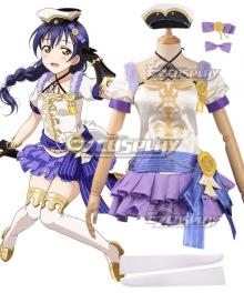 Love Live! Lovelive! Wizard Ver. Umi Sonoda Cosplay Costume