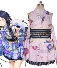 Love Live! Lovelive! Yukata Umi Sonoda Cosplay Costume