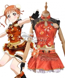 Love Live! Sunshine!! China Dress Ver Chika Takami Cosplay Costume