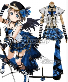 Love Live! Sunshine!! Transformed Punk Rock You Watanabe Cosplay Costume