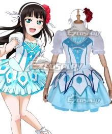 Love Live! Sunshine!! WATER BLUE NEW WORLD Dia Kurosawa Cosplay Costume
