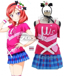 LOVELIVE2 Happy Maker Nishikino Maki Cosplay Costume