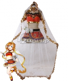 Love Live! Lovelive! Arab Dancers Awaken Arabian Honoka Kosaka Cosplay Costume