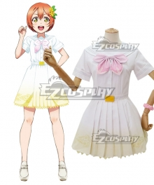 Lovelive μ's 8th A Song for You Rin Hoshizora Cosplay Costume