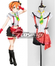 LoveLive! School Idol Project Hoshizora Rin Performance Cosplay Costume