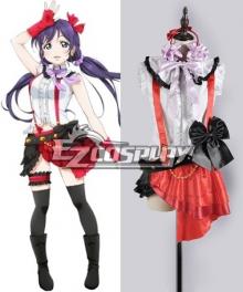 Love Live! School Idol Project Toujou Nozomi Performance Cosplay Costume