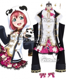 LoveLive! Sunshine!! Aqours Ruby Kurosawa SSR China Dress Ver Cosplay Costume